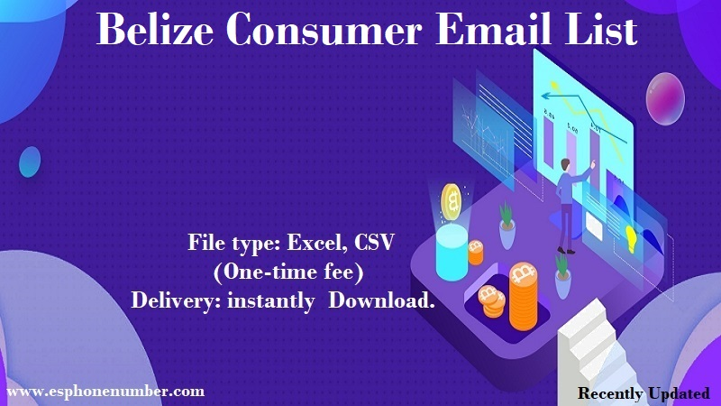 Belize Consumer Email List