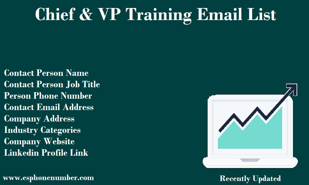 Chief & VP Training Email List