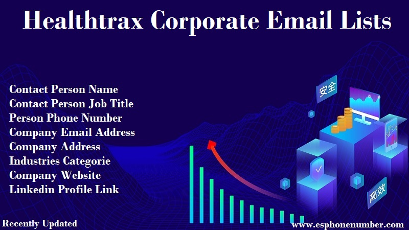 Healthtrax Corporate Email Lists