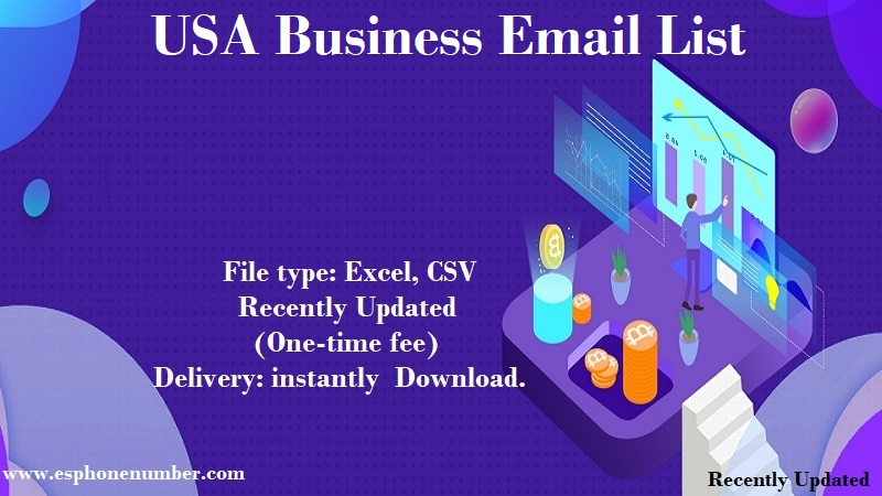 USA Business Email List